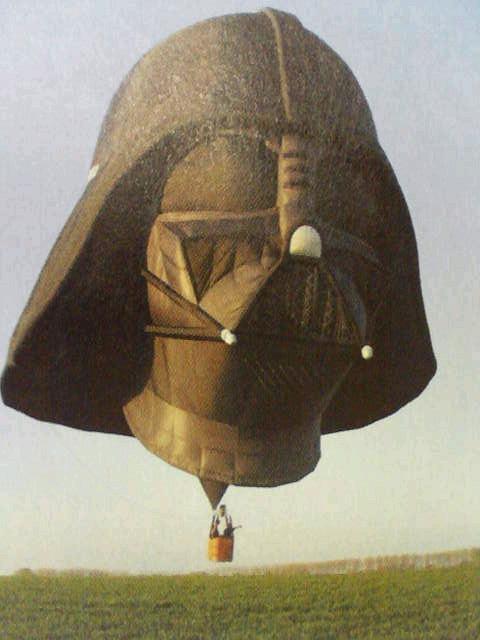 ダースベーダー気球