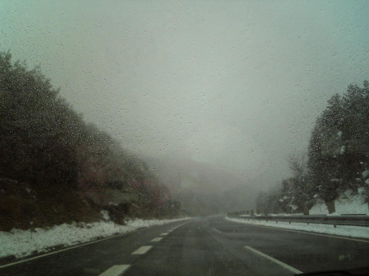 やっぱり雪が・・・
