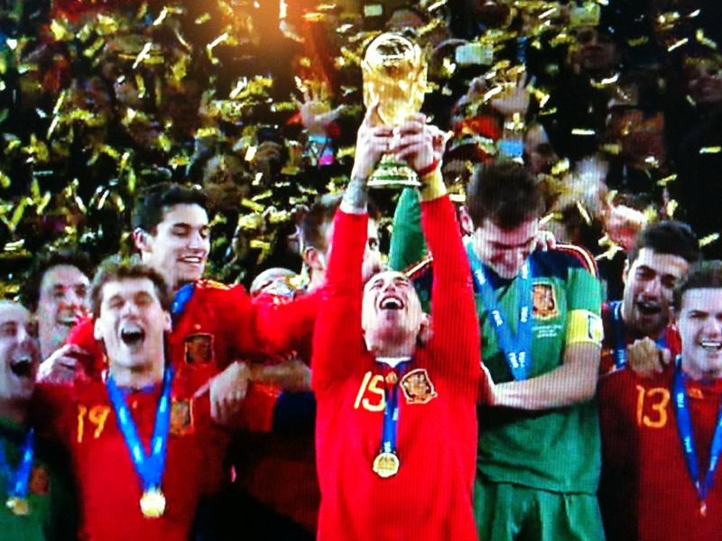 スペイン優勝その2