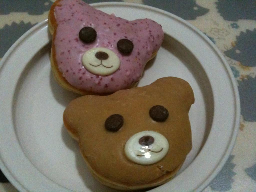 熊ドーナツ