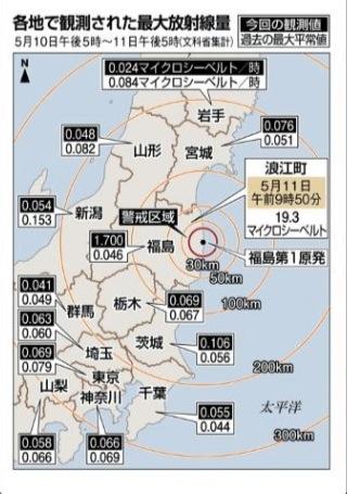 放射能観測地図