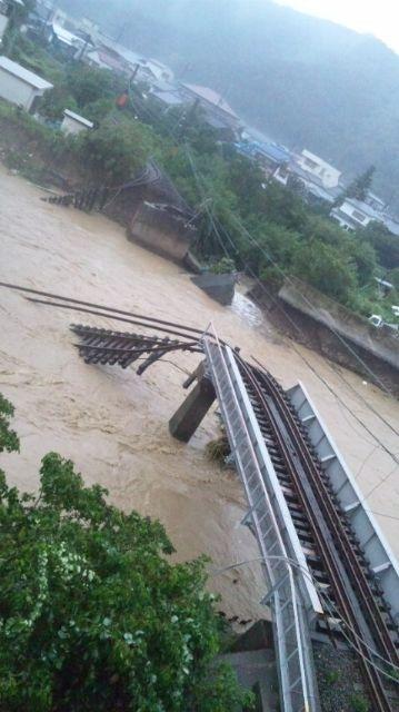 台風12号で
