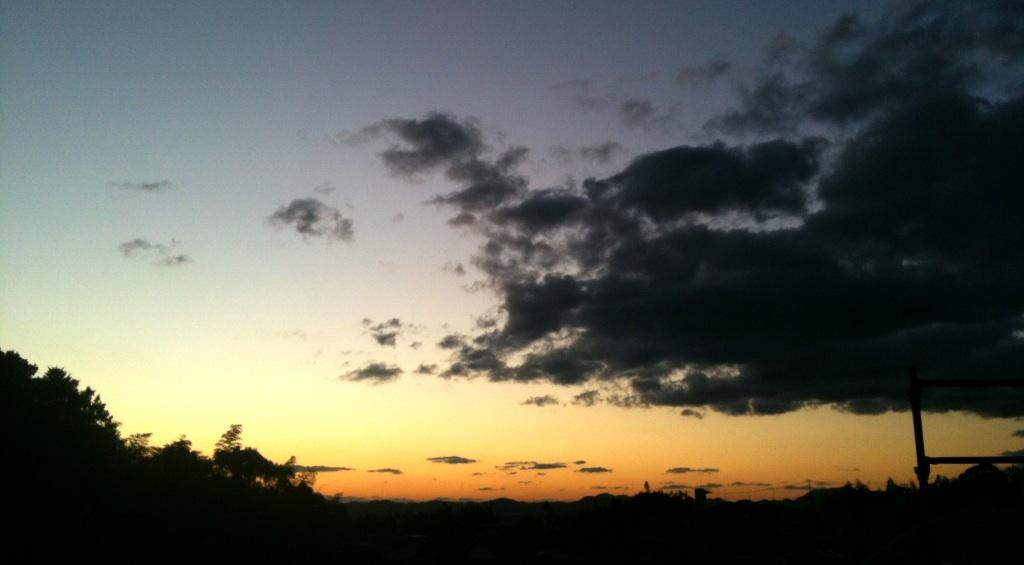 夕日が綺麗o(^▽^)o