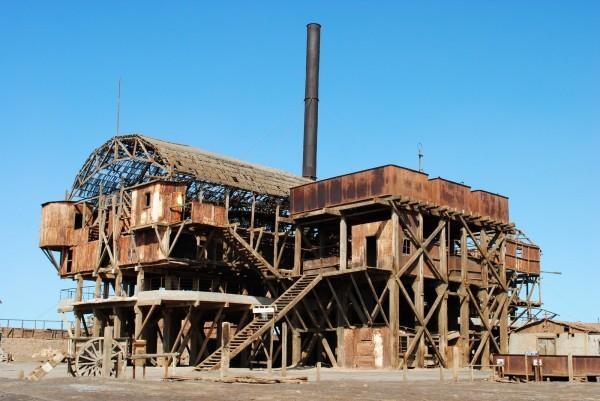 ハンバーストーンとサンタ・ラウラの硝石工場群
