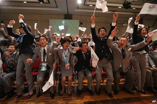 東京オリンピック決定\(^o^)/
