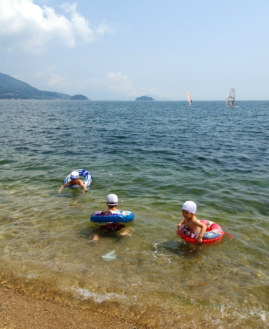 津田の松原海水浴場