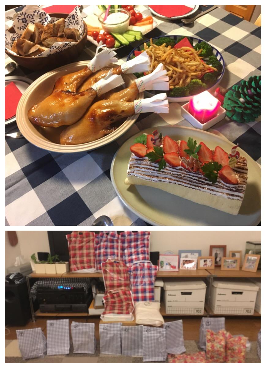 クリスマスパーチー(^ω^)