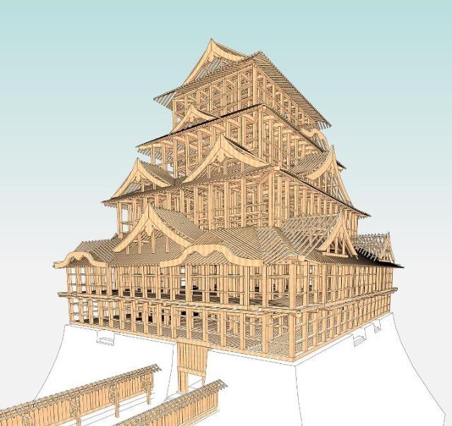 名古屋城再建
