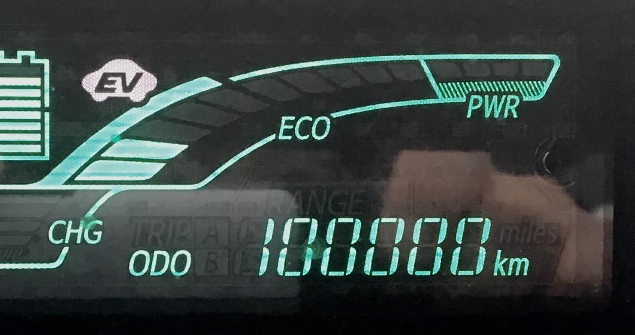 10万キロ達成(о´∀`о)