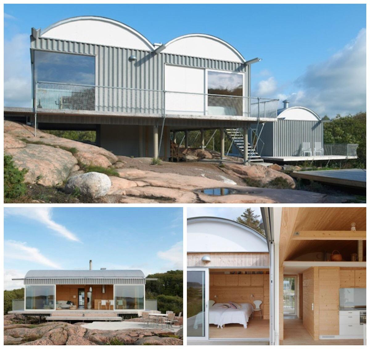 Summer house on stilts