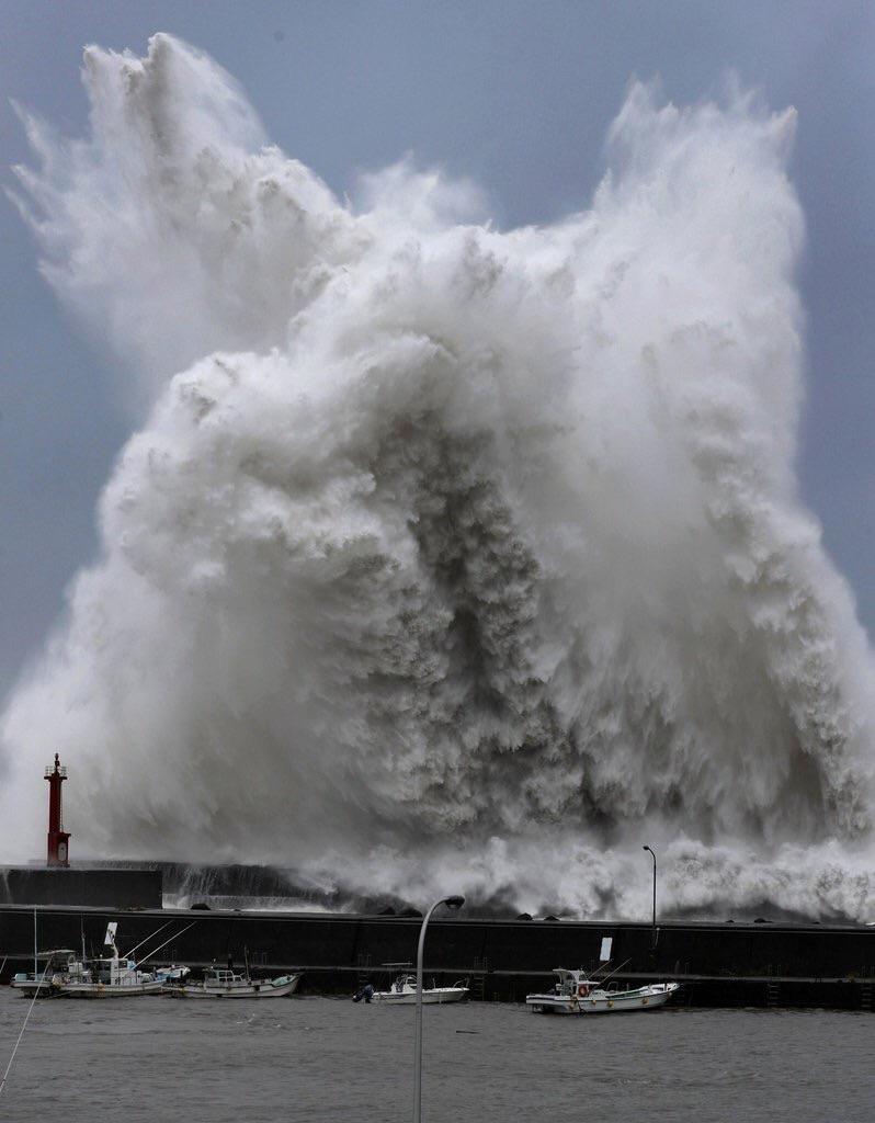 台風で怖いΣ(・□・;)⁉️