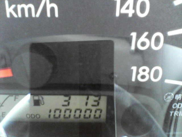 100000キロ