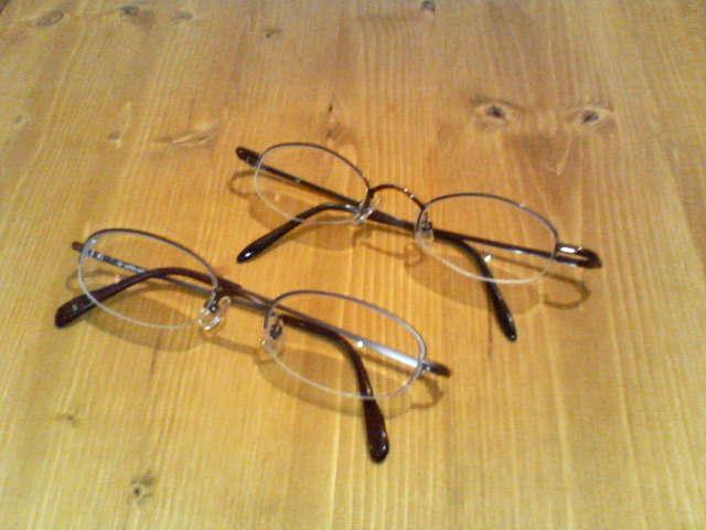 眼鏡かえたよ。